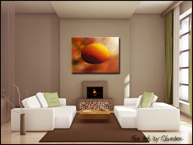 Here for You-Modern Contemporary Abstract Art Painting Image