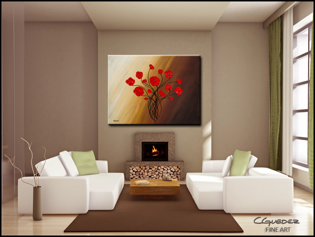 Life is Grand-Modern Contemporary Abstract Art Painting Image
