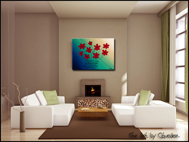 Mon Cheri-Modern Contemporary Abstract Art Painting Image