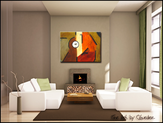 My Orchestra-Modern Contemporary Abstract Art Painting Image