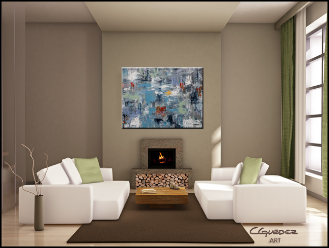 New Directions-Modern Contemporary Abstract Art Painting Image