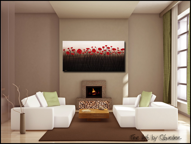 New Season-Modern Contemporary Abstract Art Painting Image