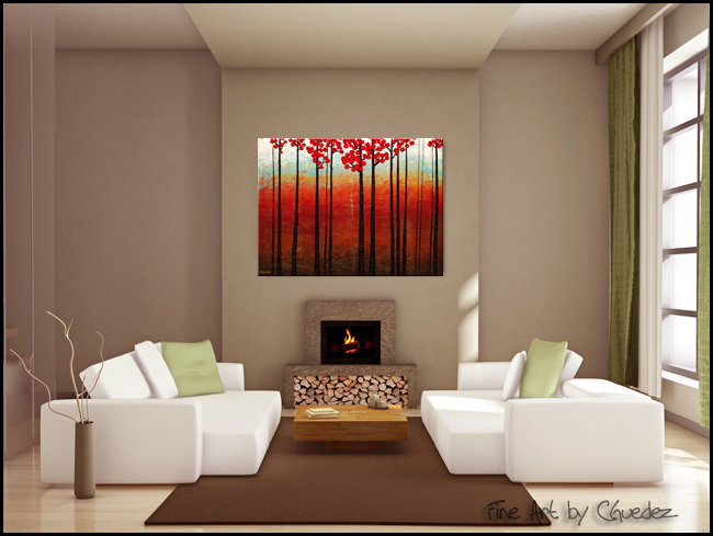 Season of Hope-Modern Contemporary Abstract Art Painting Image