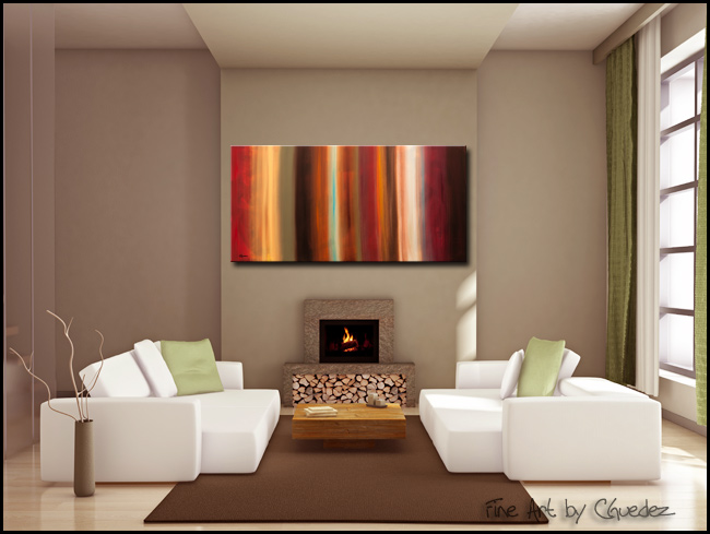 Serenidad-Modern Contemporary Abstract Art Painting Image