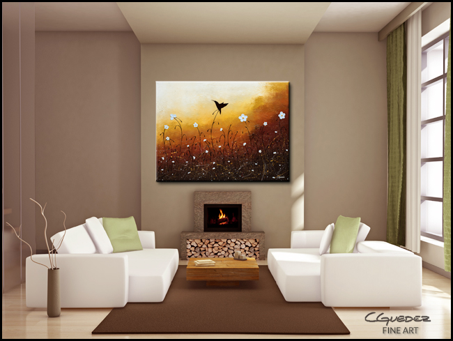 Small Treasure-Modern Contemporary Abstract Art Painting Image