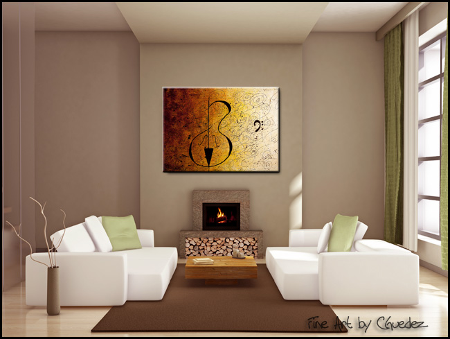 Suite No. 1-Modern Contemporary Abstract Art Painting Image