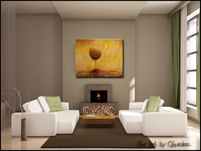 Welcome Home Beloved-Modern Contemporary Abstract Art Painting Image