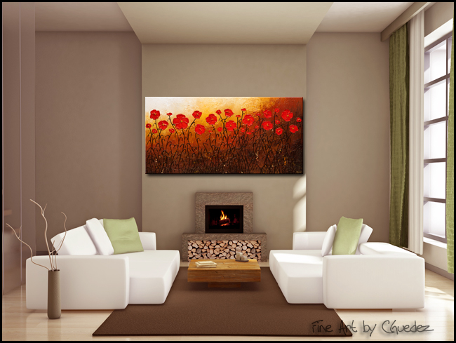 Well Beloved-Modern Contemporary Abstract Art Painting Image