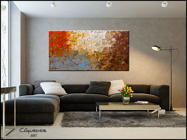 A Day to Remember-Modern Contemporary Abstract Art Painting Image