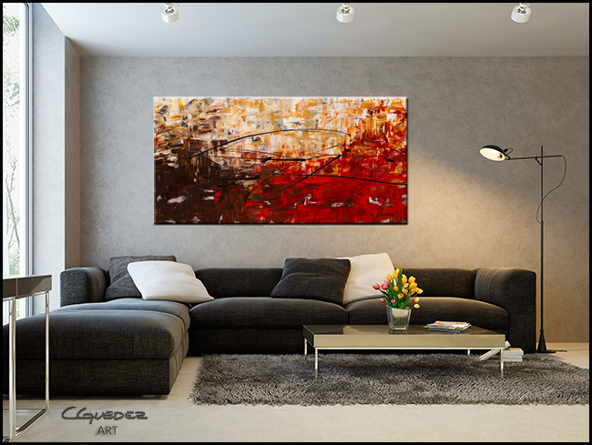 Grand Vision-Modern Contemporary Abstract Art Painting Image