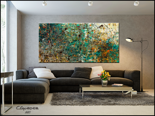 The Abstract Concept-Modern Contemporary Abstract Art Painting Image