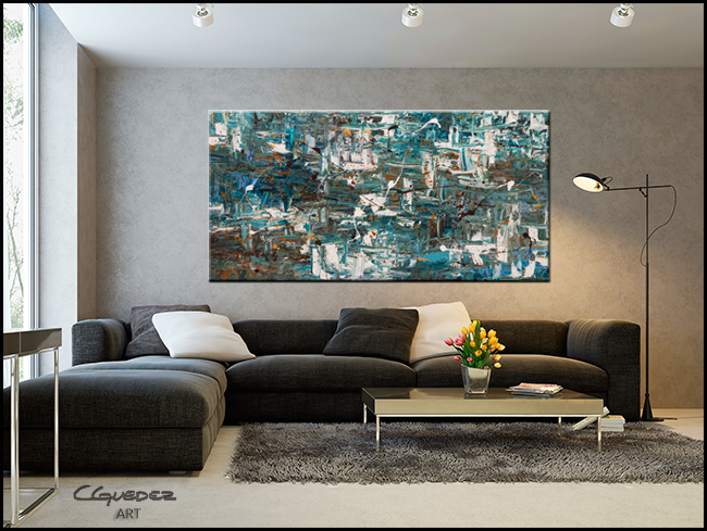 The Memo-Modern Contemporary Abstract Art Painting Image