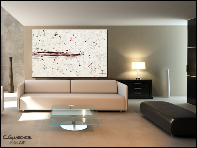 Break the Ice-Modern Contemporary Abstract Art Painting Image