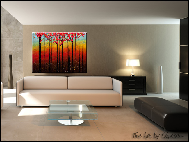 High Road-Modern Contemporary Abstract Art Painting Image