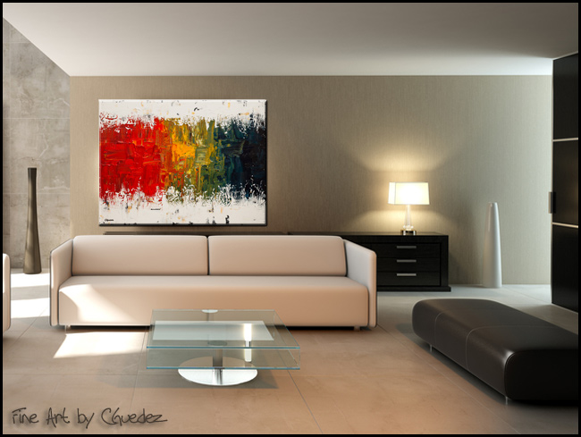 Spectrum-Modern Contemporary Abstract Art Painting Image