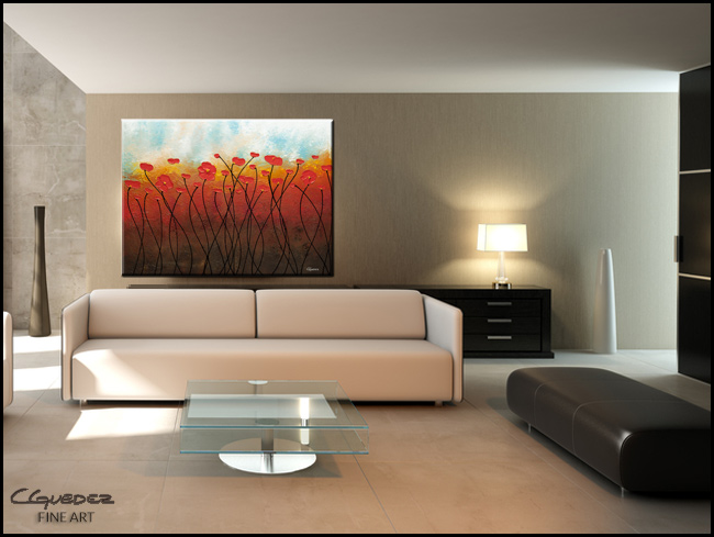 Sweet Breeze-Modern Contemporary Abstract Art Painting Image