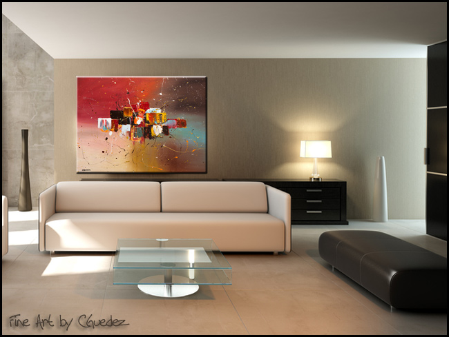 Synergy-Modern Contemporary Abstract Art Painting Image