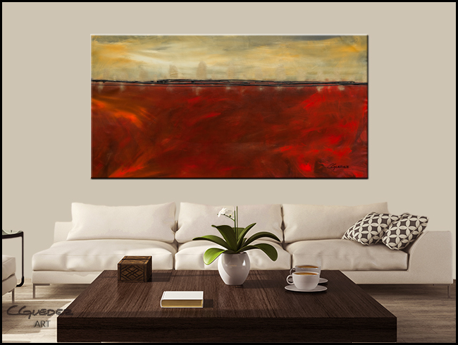 Affluence-Modern Contemporary Abstract Art Painting Image