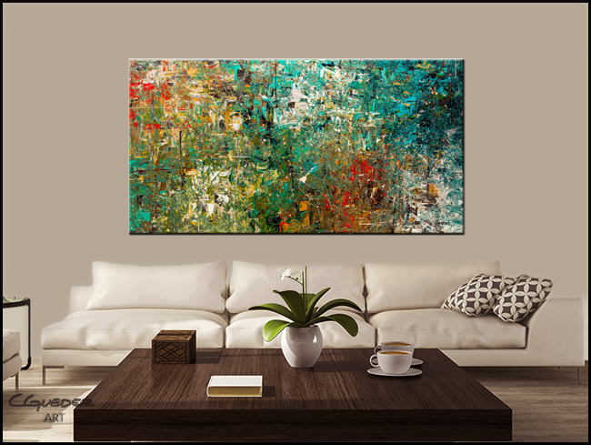 Discovery-Modern Contemporary Abstract Art Painting Image
