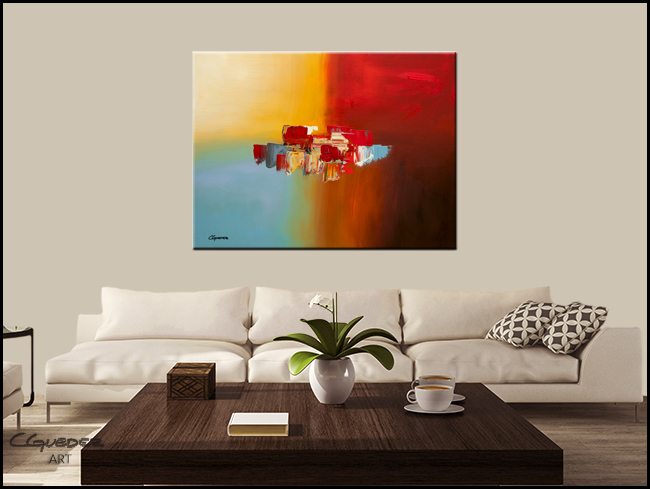 Good Day-Modern Contemporary Abstract Art Painting Image
