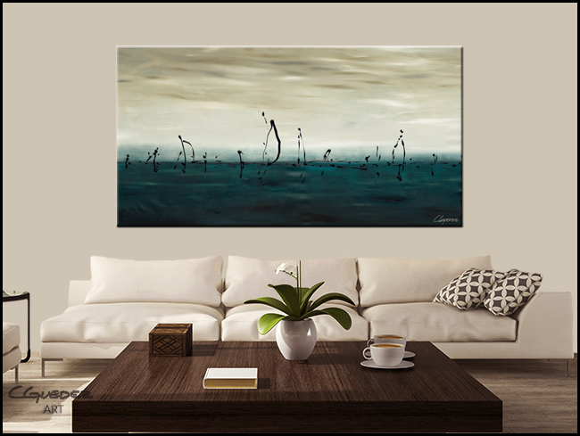 Sailing-Modern Contemporary Abstract Art Painting Image