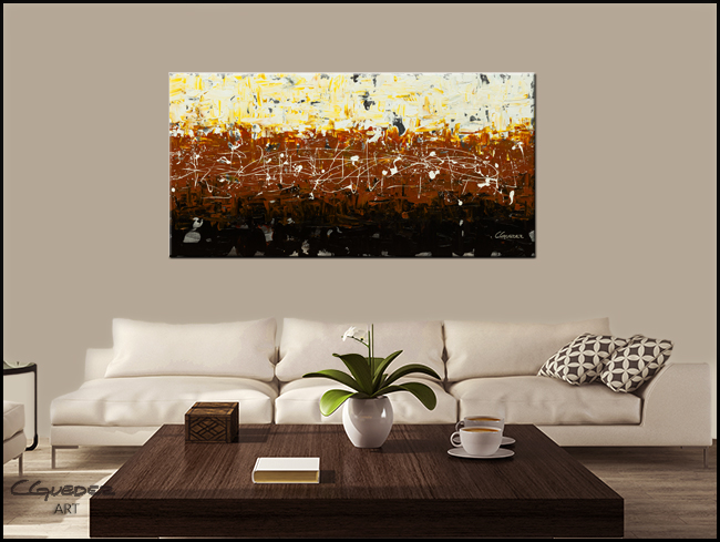Terra Matter-Modern Contemporary Abstract Art Painting Image