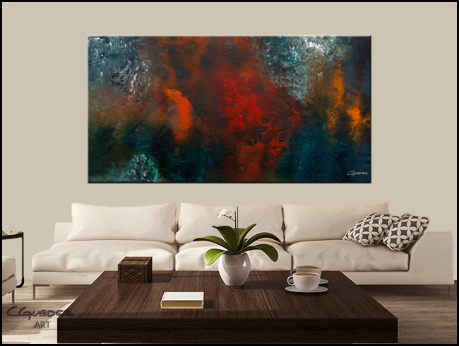 Wonderland-Modern Contemporary Abstract Art Painting Image