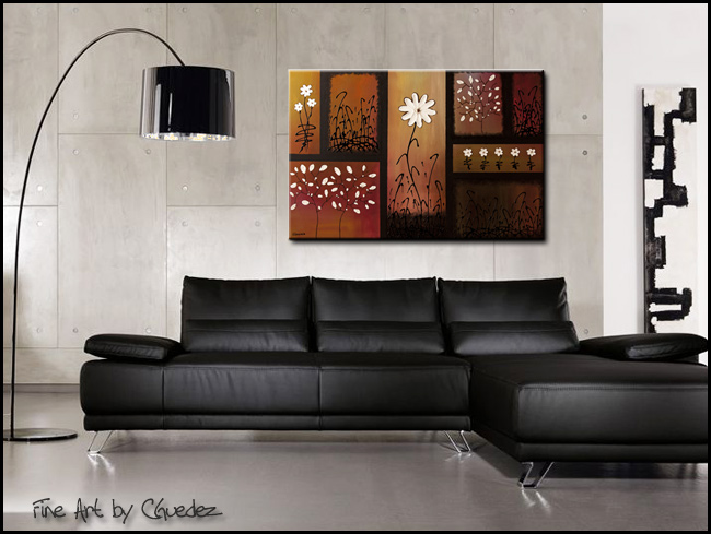 Dream and Believe-Modern Contemporary Abstract Art Painting Image