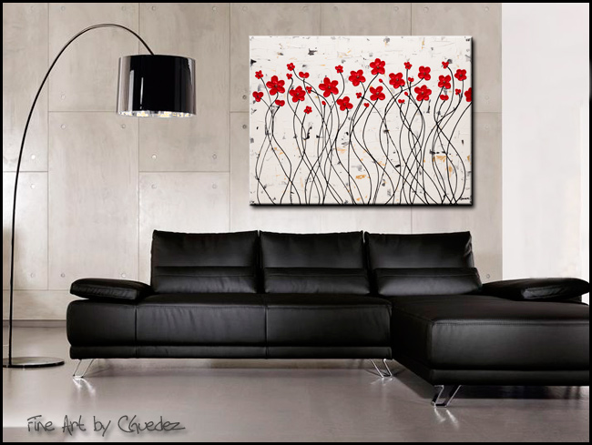 Enchantment-Modern Contemporary Abstract Art Painting Image