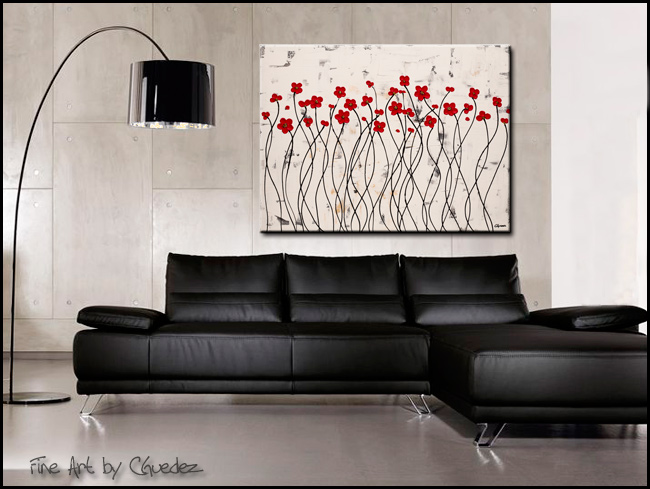Eternal Love-Modern Contemporary Abstract Art Painting Image