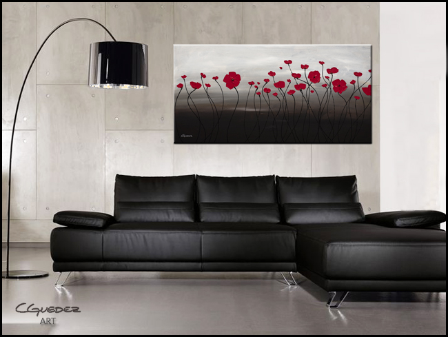 First Blossom-Modern Contemporary Abstract Art Painting Image