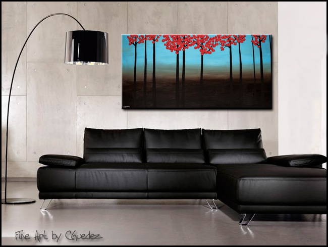 Gratitude-Modern Contemporary Abstract Art Painting Image