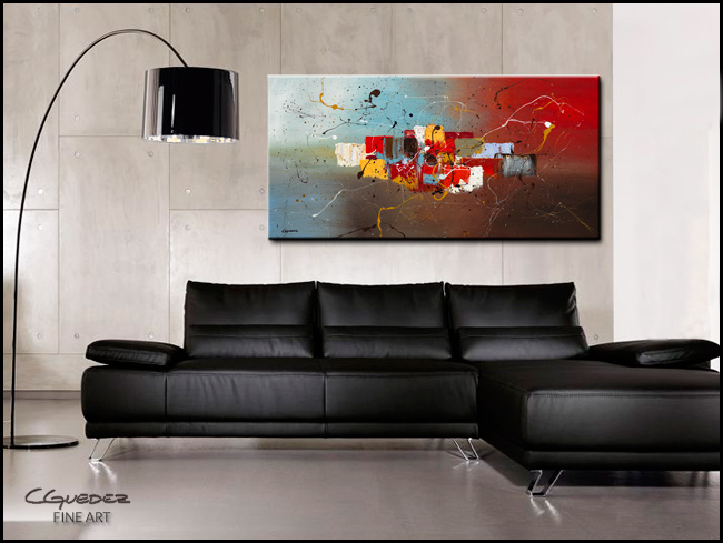 It's My Birthday-Modern Contemporary Abstract Art Painting Image