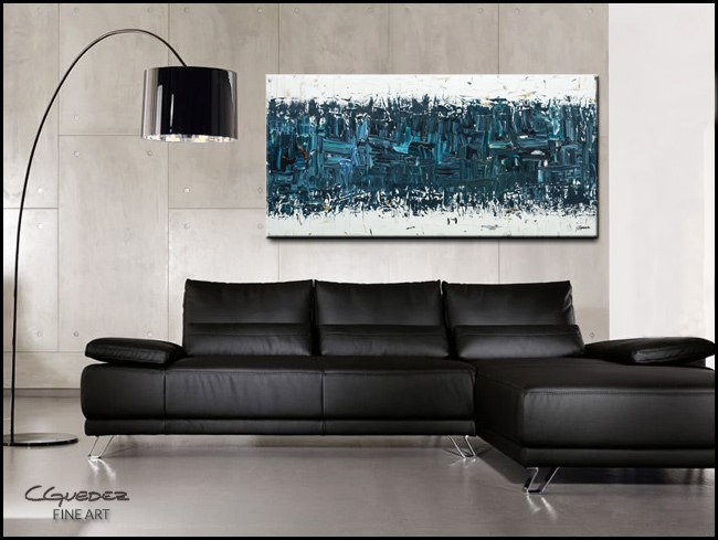 Like Night and Day-Modern Contemporary Abstract Art Painting Image