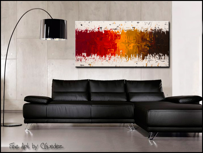 Luminescence-Modern Contemporary Abstract Art Painting Image