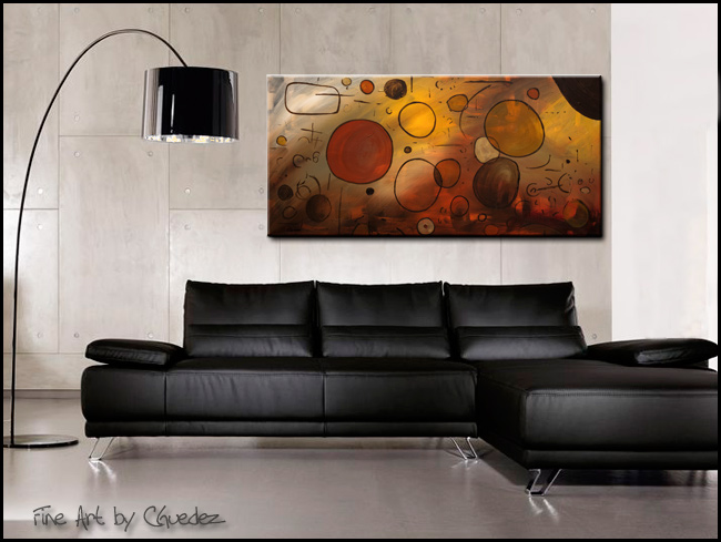 Make a Wish-Modern Contemporary Abstract Art Painting Image