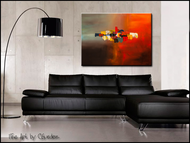 Mindful-Modern Contemporary Abstract Art Painting Image