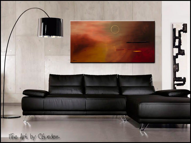 Moving Forward-Modern Contemporary Abstract Art Painting Image