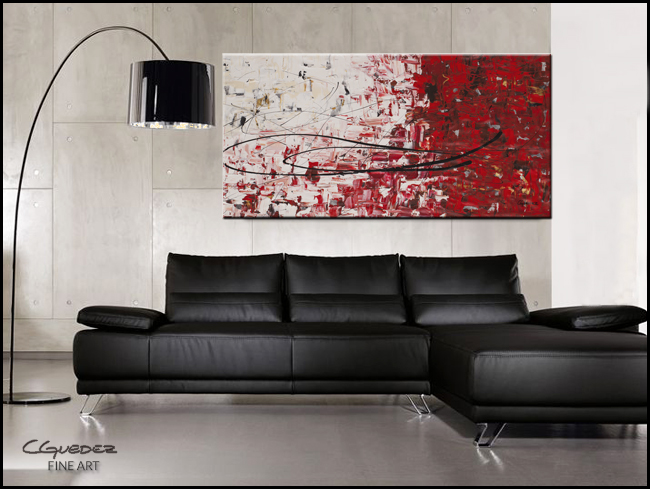 Out of Sight-Modern Contemporary Abstract Art Painting Image