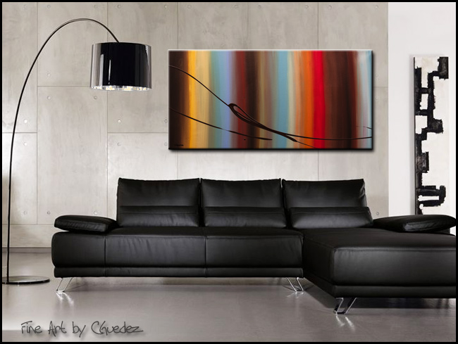 Passage of Time-Modern Contemporary Abstract Art Painting Image