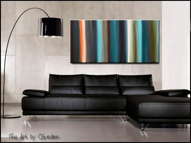 Serenity-Modern Contemporary Abstract Art Painting Image