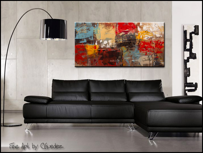 TGIF-Modern Contemporary Abstract Art Painting Image