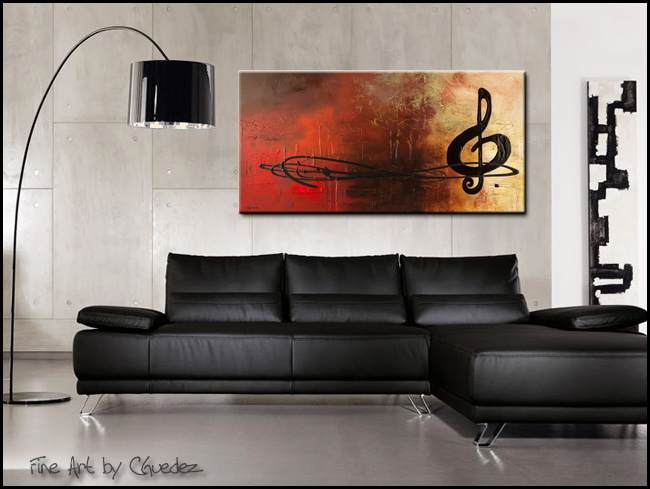 The Pause-Modern Contemporary Abstract Art Painting Image