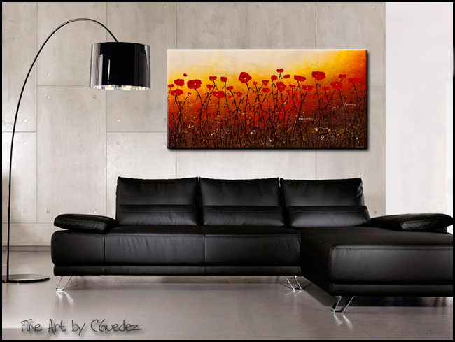 Where Faith Grows-Modern Contemporary Abstract Art Painting Image