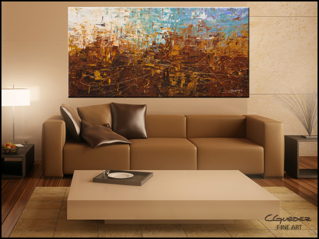 Benvenuto-Modern Contemporary Abstract Art Painting Image