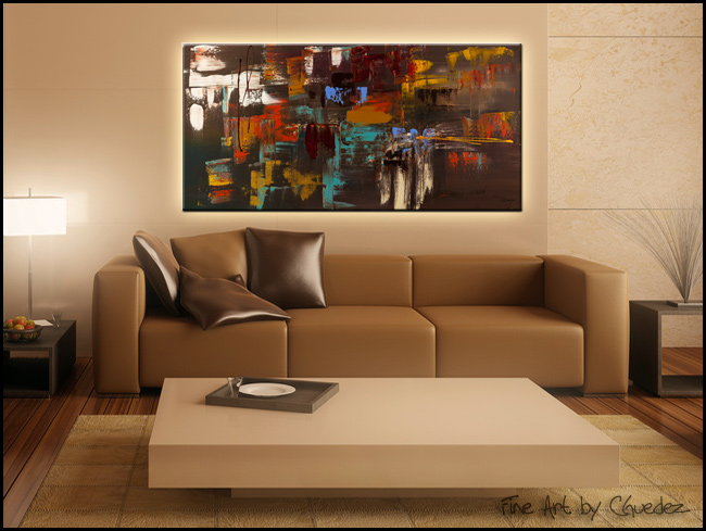 Déjà Vu-Modern Contemporary Abstract Art Painting Image