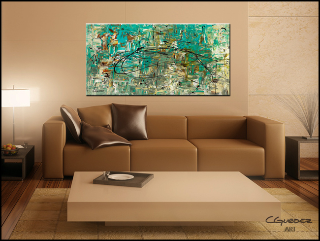 Free Up Urself-Modern Contemporary Abstract Art Painting Image