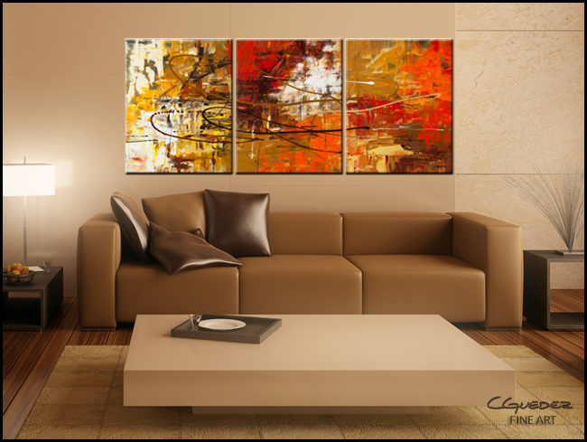Funtastic-Modern Contemporary Abstract Art Painting Image