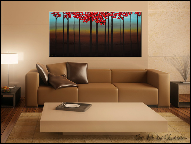 Mater Natura-Modern Contemporary Abstract Art Painting Image