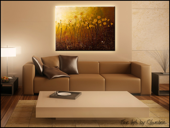 My Peaceful Place-Modern Contemporary Abstract Art Painting Image